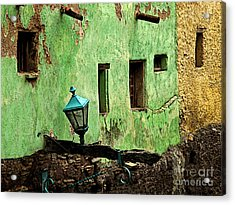 Tunnel Lamp Acrylic Print by Mexicolors Art Photography