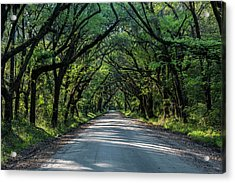 Acrylic Print featuring the photograph Tunnel On Botany Bay by Jon Glaser