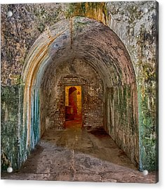 Tunnel To Door# 5 Acrylic Print
