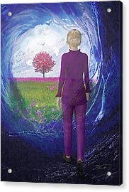 Tunnel To Eternal Life Acrylic Print