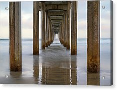 Tunnel To The Sea Acrylic Print