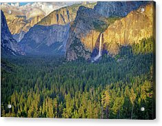Tunnel View At Sunset Acrylic Print
