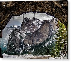 Tunnel View From The Tunnel Acrylic Print by Bill Gallagher