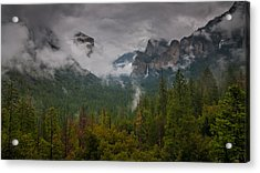 Tunnel View Acrylic Print by Ralph Vazquez