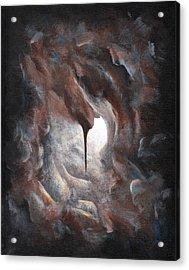 Tunnel Vision 02 - Keyhole Acrylic Print by Joe Burgess