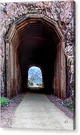 Tunnel Vision Acrylic Print by James Marvin Phelps