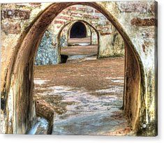 Tunnel Vision Acrylic Print by Michael Garyet