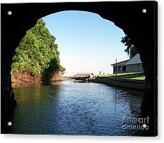 Tunnel Vison One Acrylic Print by Jack Norton