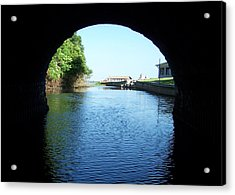 Tunnel Vison Two Acrylic Print by Jack Norton