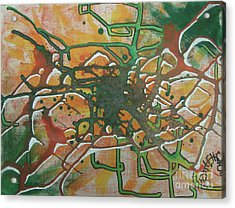 Tunnels Acrylic Print by Jason Whitehead