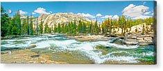 Tuolumne River Rapids Acrylic Print