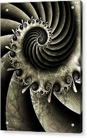 Turbine Acrylic Print by David April