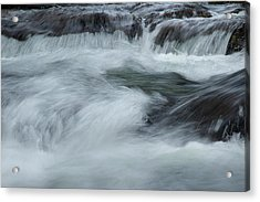 Acrylic Print featuring the photograph Turbulence  by Mike Eingle
