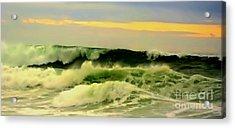 Turbulent Ocean Swell Acrylic Print