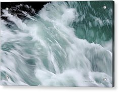 Turbulent Seas Acrylic Print
