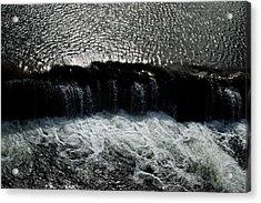 Turbulent Water Acrylic Print