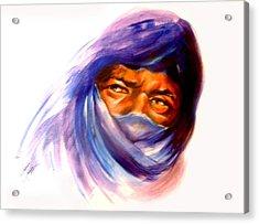 Tureg Man Acrylic Print by Patricia Rachidi