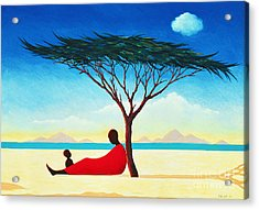 Turkana Afternoon Acrylic Print