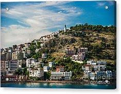 Turkey Coastal Village Acrylic Print by Ken Andersen