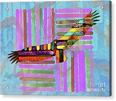Turkey Vulture Acrylic Print by Robert Ball