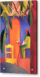Turkish Cafe II Acrylic Print by August Macke