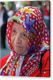 Turkish Day Parade 5 28 11 10 Acrylic Print by Robert Ullmann