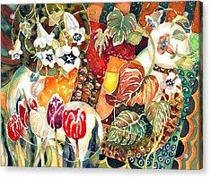 Turkish Garden Acrylic Print