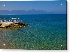 Turkish Resort Acrylic Print by Kobby Dagan