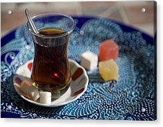 Turkish Tea Acrylic Print by Steve Outram