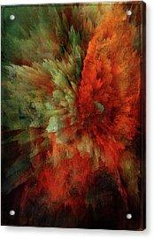 Turmoil Acrylic Print
