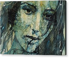Turn Down These Voices Inside My Head Acrylic Print by Paul Lovering