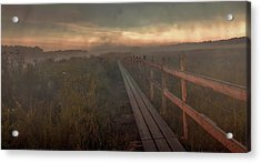 Acrylic Print featuring the photograph Turn To Infinity #g6 by Leif Sohlman