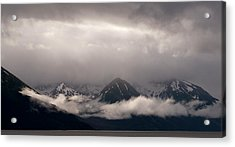 Turnagain Arm Acrylic Print by Andy-Kim Moeller