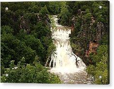 Turner Falls Waterfall Acrylic Print