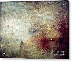 Turner: Sun Setting, C1840 Acrylic Print by Granger
