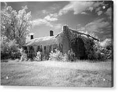 Turner's Mill House Acrylic Print by Fred Baird