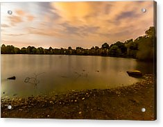 Turners Pond After Dark Acrylic Print