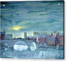 Turner's York Acrylic Print