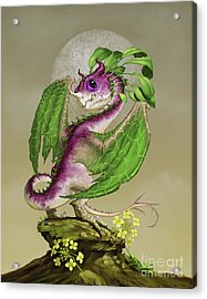 Turnip Dragon Acrylic Print