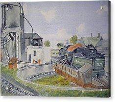 Turntable Roundhouse Acrylic Print