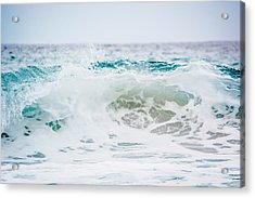 Turquoise Beauty Acrylic Print by Shelby Young