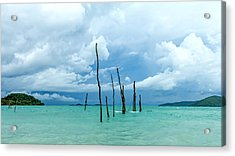 Turquoise Dream Acrylic Print by Stelios Kleanthous