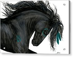 Turquoise Dreamer Horse Acrylic Print