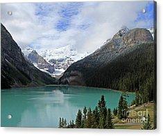 Turquoise Lake Acrylic Print