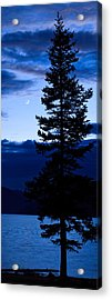 Turquoise Lake Twilight Acrylic Print