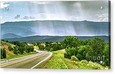 Turquoise Trail Acrylic Print
