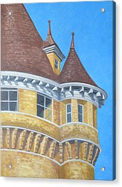 Turrets Of Lawson Tower Acrylic Print