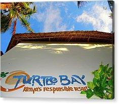 Turtle Bay Resort Watamu Kenya Looking Skyward 2 Acrylic Print