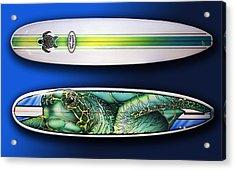 Turtle Board Acrylic Print