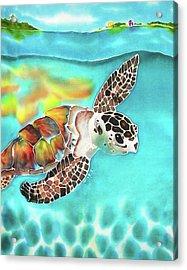 Turtle Creek Acrylic Print